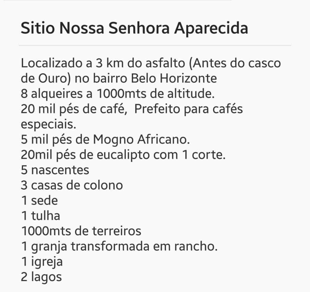 Sítio em Serra Negra, Bairro Belo Horizonte